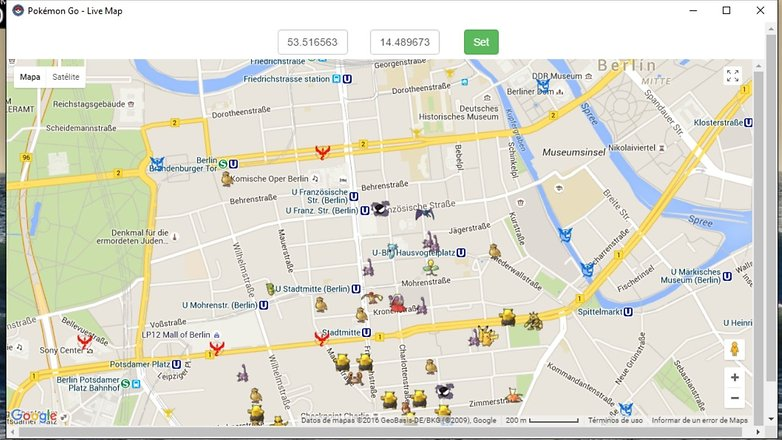 AndriodPIT pokemon go map