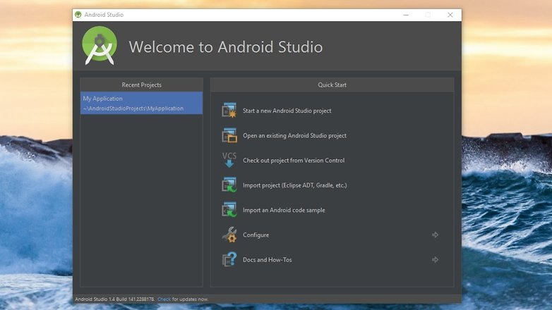 AndroidPIT android studio 01
