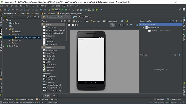 AndroidPIT android studio 06