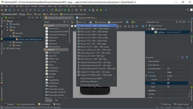 AndroidPIT android studio 09