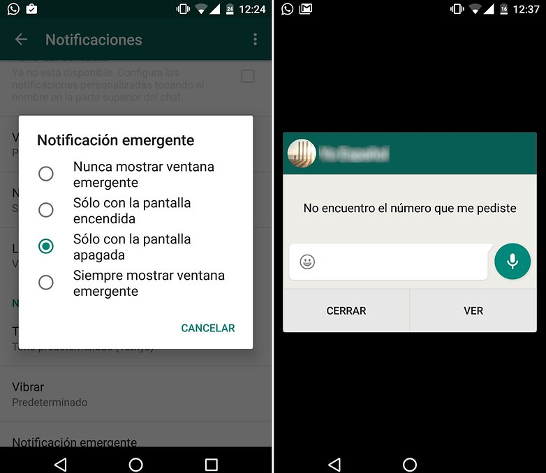 androidpit Whatsapp pop up