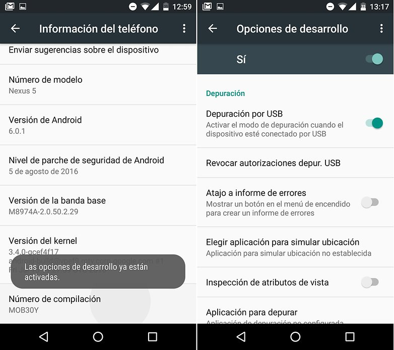 AndroidPIT depuracion usb 02