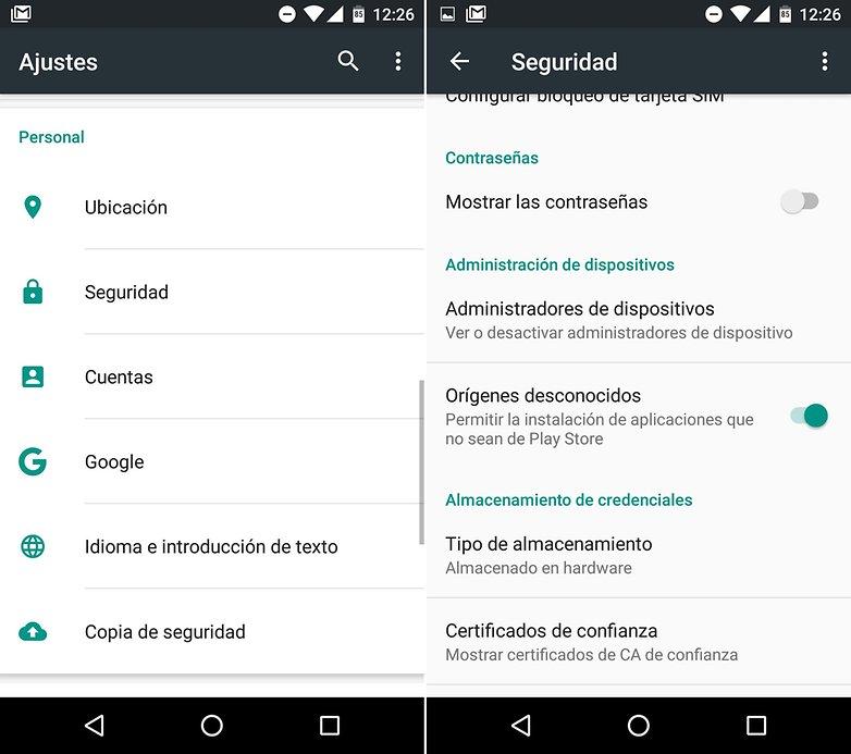 AndroidPTI origenes desconocidos