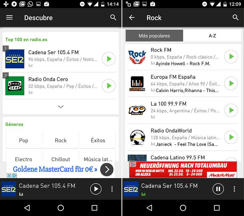 Androidpit mejores apps radio radioes