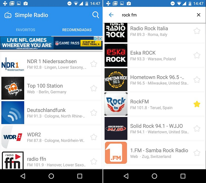 Androidpit mejores apps radio simple radio