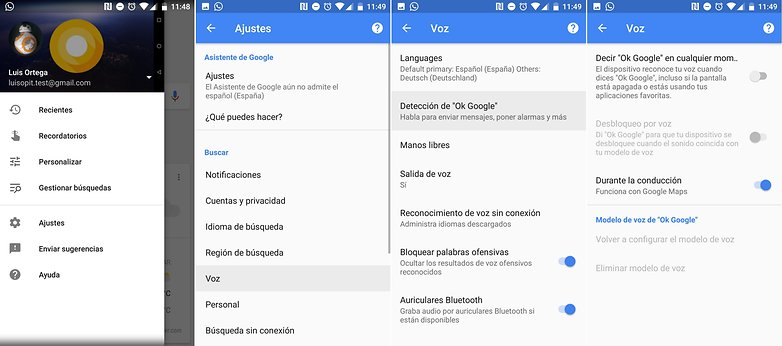 AndroidPIT Comandos voz Google Android
