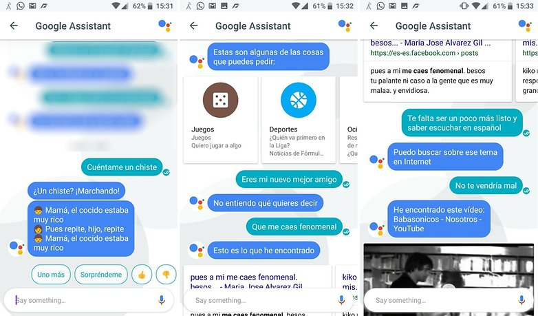 AndroidPIT Google Assistant chistes