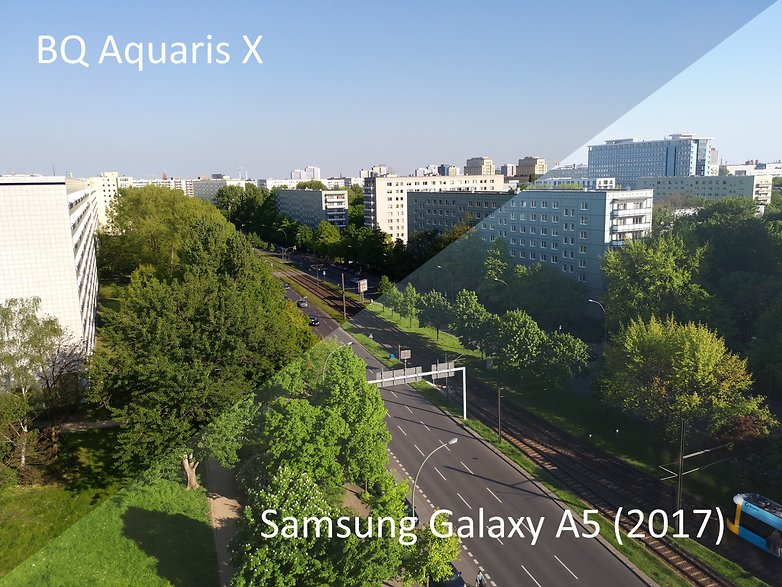 AndroidPIT Samsung Galaxy A5 2017 vs BQ Aquaris X sin HDR