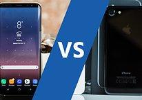 Samsung Galaxy S8 vs iPhone 7: an eternal battle of the brands