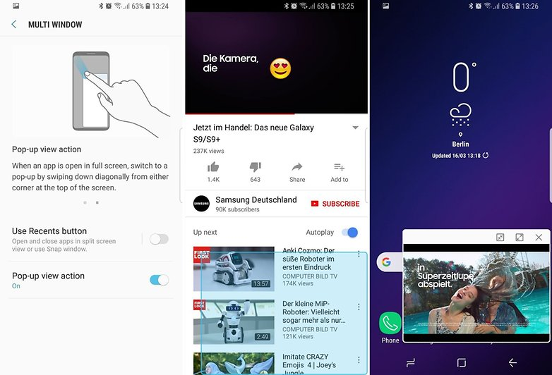 AndroidPIT Samsung Galaxy S9 tips tricks 10