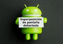 "Solución al error de ""Superposición de pantalla detectada"""