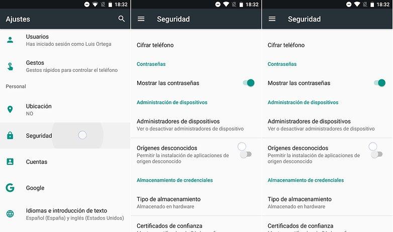 AndroidPIT activar origenes desconocidos