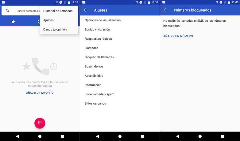 AndroidPIT bloquear contactos pixel nexus