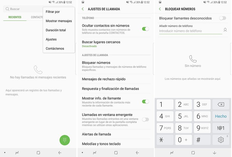 AndroidPIT bloquear contactos samsung