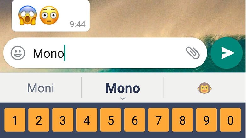 AndroidPIT busqueda emoji whatsapp