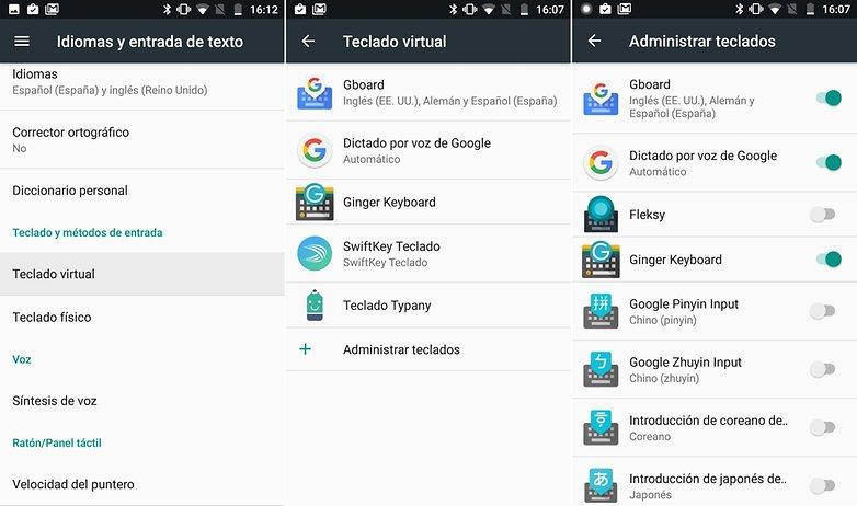 AndroidPIT cambiar teclado 01