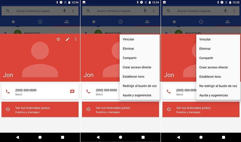 AndroidPIT contactos buzon voz pixel nexus
