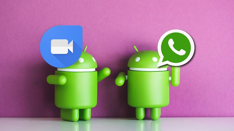 AndroidPIT duo vs whatsapp