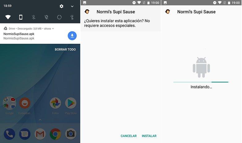AndroidPIT instalar apk