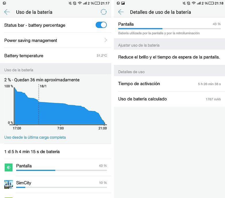 AndroidPIT leeco le pro 3 bateria