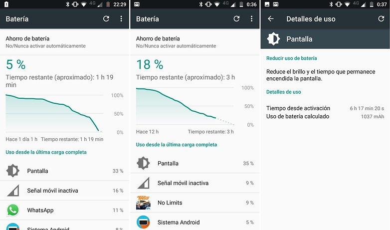 AndroidPIT lenovo moto g5 plus bateria ES