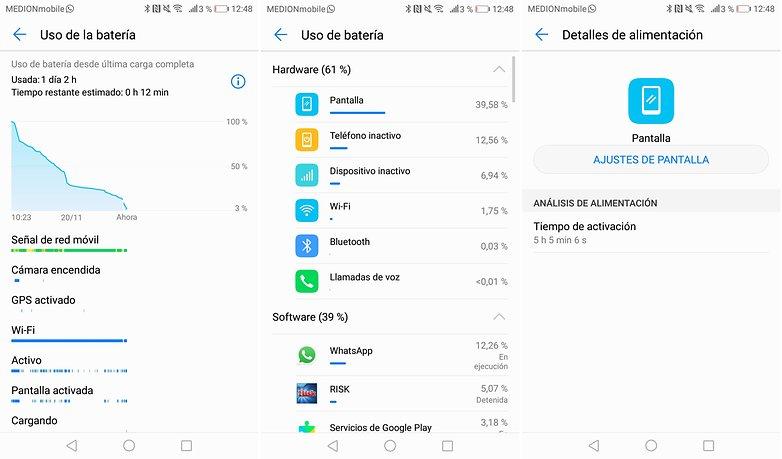 AndroidPIT mate 10 bateria