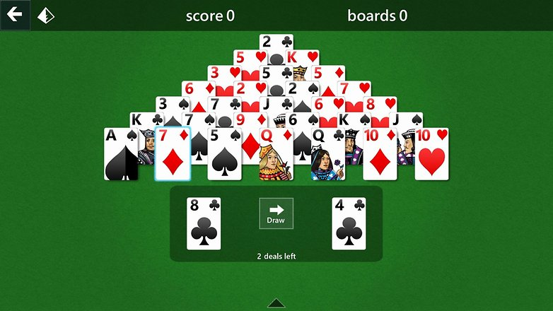 AndroidPIT microsoft solitaire
