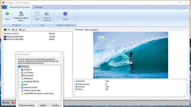 AndroidPIT recuperar archivos micro sd 03
