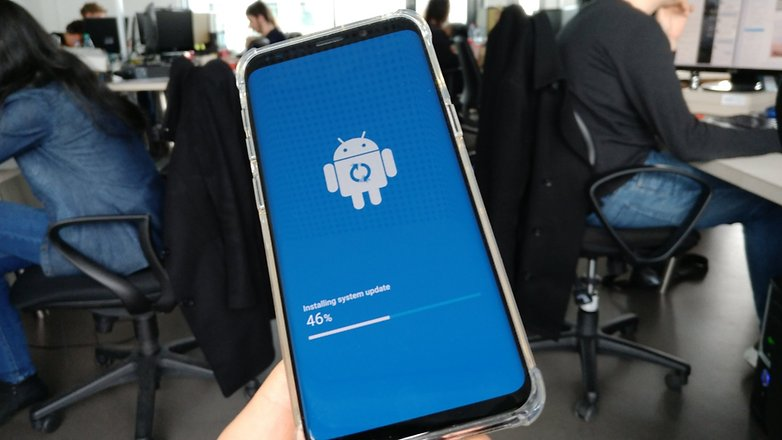 AndroidPIT samsung galaxy s9 updates