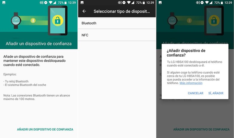 AndroidPIT smart lock dispositivo cercano confianza 01
