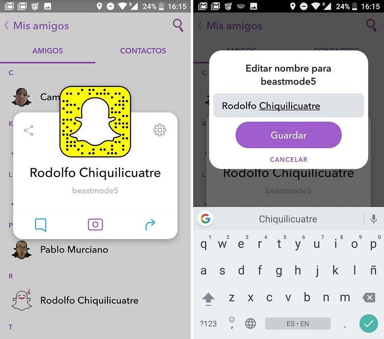 AndroidPIT trucos snapchat 03