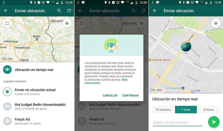 AndroidPIT whatsapp compartir ubicacion 01