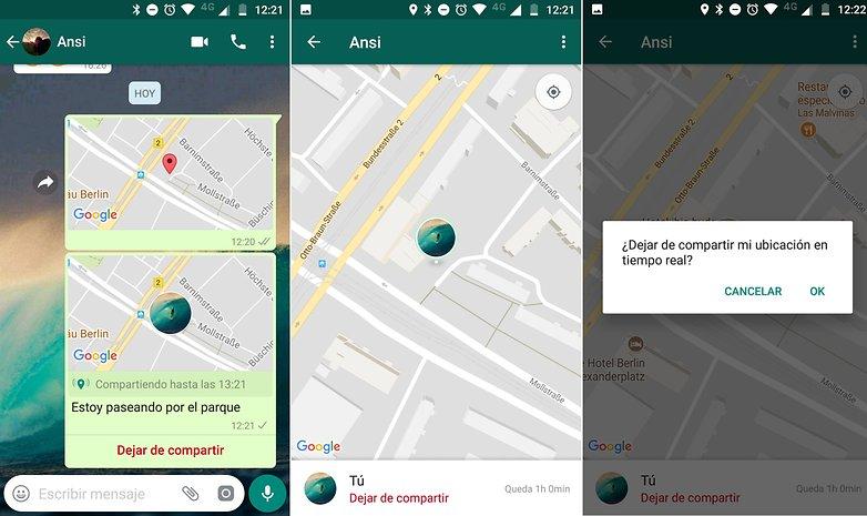 AndroidPIT whatsapp compartir ubicacion 02