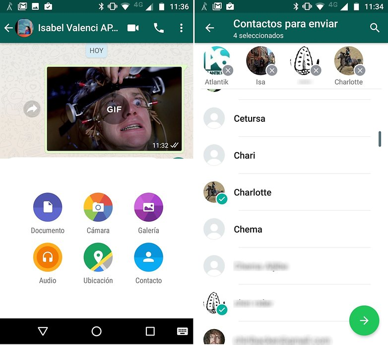 AndroidPIT whatsapp contacts