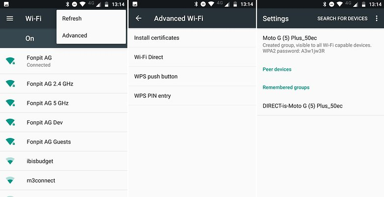 AndroidPIT wifi direct