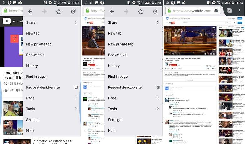 AndroidPIT youtube pantalla apagada