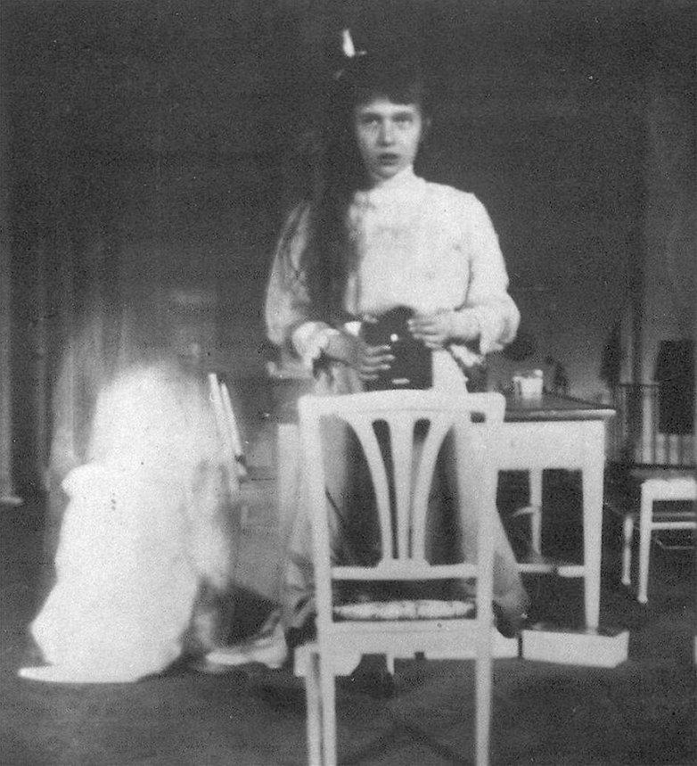 Duquesa Anastasia Nikolaevna selfie