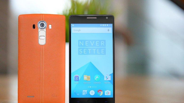 LG G4 vs oneplus 2