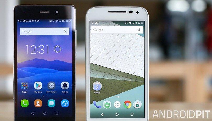 a41e8e36a3d Motorola Moto G 2015 vs Huawei P8 Lite: Comparación tensa de la gama