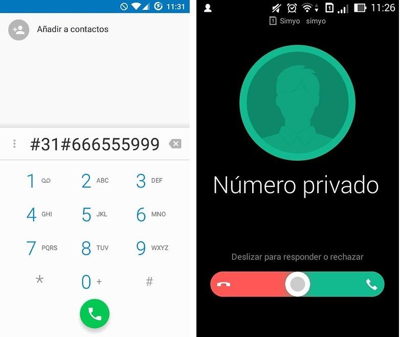 llamada numero privado 01