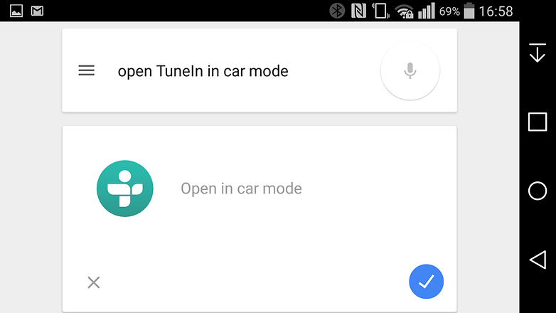 Google now tunein