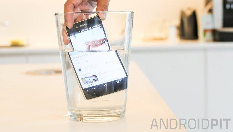 Les meilleurs smartphones Android résistants à l'eau