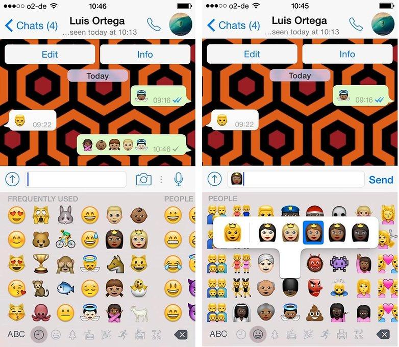 WhatsApp emojis esp