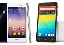 BQ Aquaris E5 4G vs Huawei Ascend P7 - Comparación entre dos luchadores de precio económico