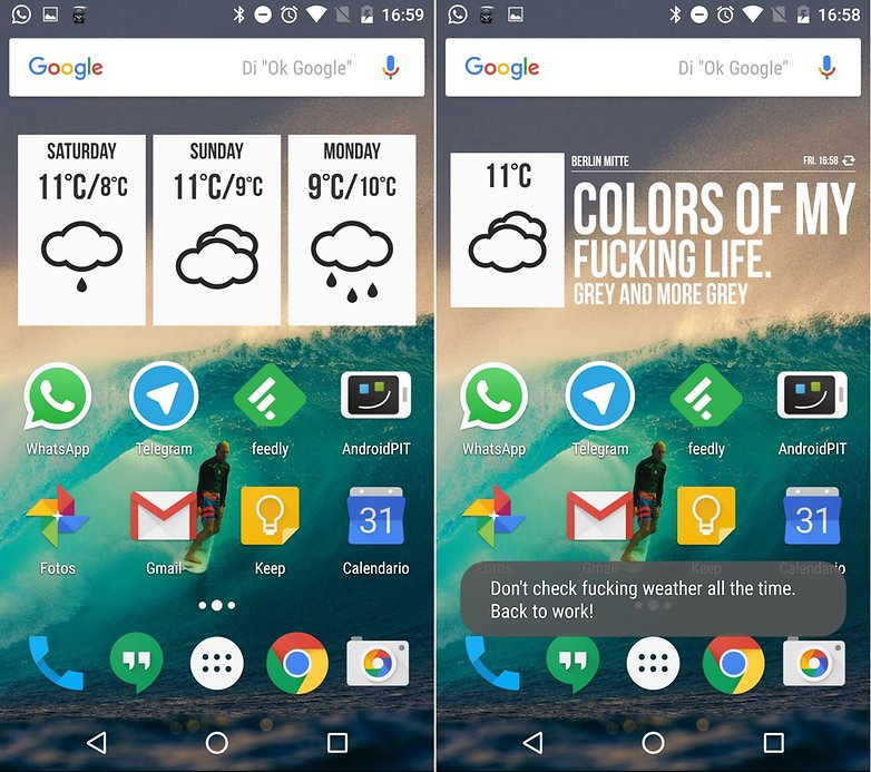Los mejores widgets para android androidpit for Widget tiempo android