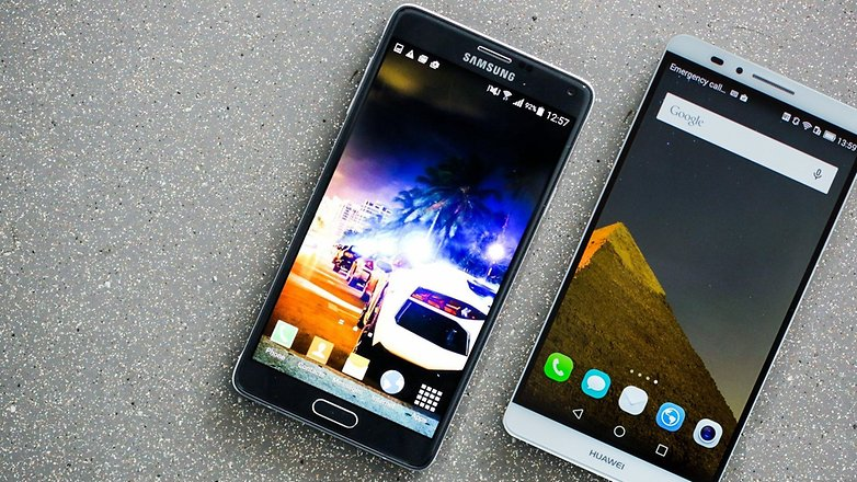 androidpit samsung galaxy note 4 vs huawei ascend mate 7 01