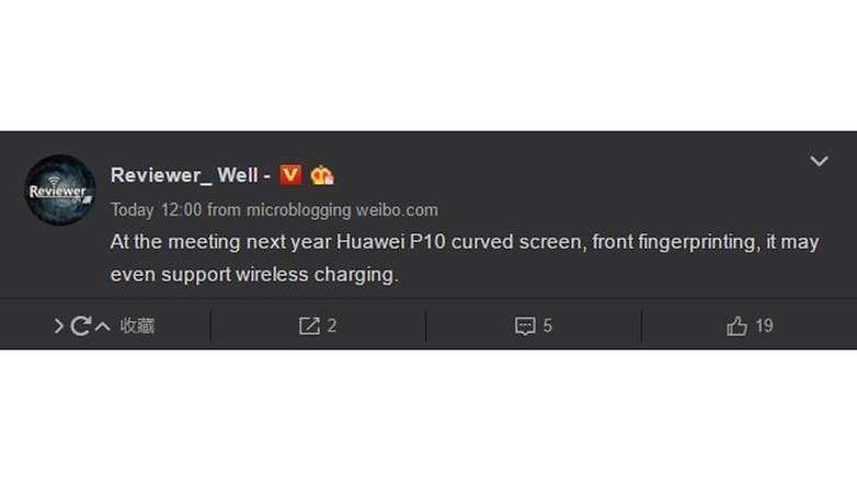 Weibo huawei p10 rumors 02