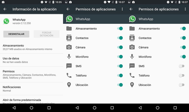 Android marshmallow app esp