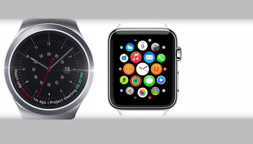 Gear S2 vs Apple Watch: Dos smartwatches luchando por el trono
