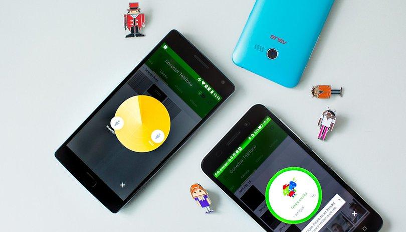 Cómo compartir archivos entre smartphones sin conexión a internet